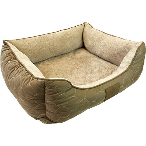 American Kennel Club Orthopedic Circle Stitch Cuddler Pet Bed, Taupe (Pillow Stuffing Online Buy)