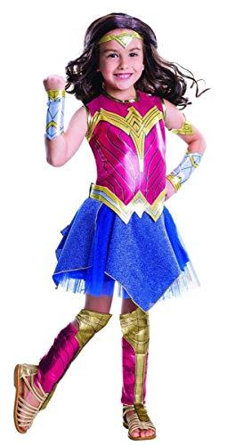 Rubie's Costume Batman vs Superman: Dawn of Justice Deluxe Wonder Woman Costume, Small -