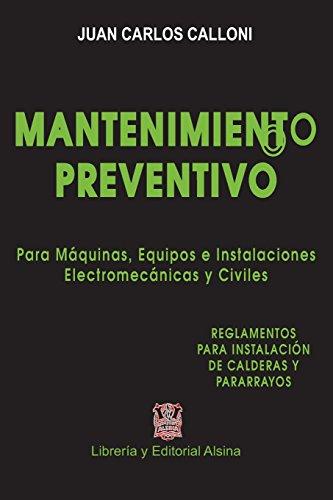 Descargar Libro Mantenimiento Preventivo Juan Carlos Calloni