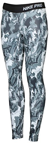 NIKE Pro Combat Girl's Hyperwarm Tights 915368 010 (l)