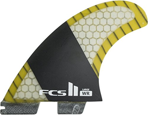 FCS Carbon Surfboard Fin Set product image