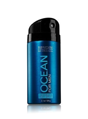 - Bath and Body Works Signature Collection for Men Ocean Deodorizing Body Spray