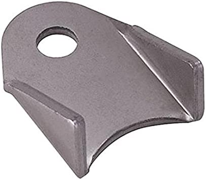 Allstar Performance Pack of 4 Allstar ALL60016 1-3//4 Tall 1//8 Thick 3//8 Hole 1-1//4 Mild Steel Center Hole Height Body Brace Chassis Tab,