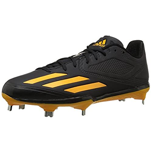 best service efb03 f8bd0 adidas Mens Shoes  Adizero Afterburner 3 Baseball Cleats, BlackGoldGold,