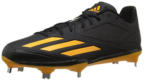 adidas-Mens-Adizero-Afterburner-3-Baseball-Cleats-BlackGoldGold-7-M-US