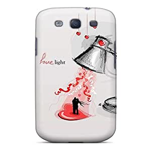 New Arrival Jld6174YqdZ Premium Galaxy S3 Cases(love Light Dancing)