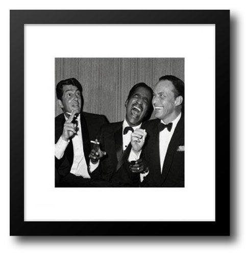 Rat Pack (Carnegie Hall) 20x20 Framed Art Print