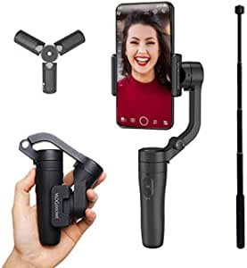 FeiyuTech Vlog Pocket Foldable Smartphone Gimbal - Black
