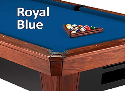 - 9' Simonis 860 Royal Blue Pool Table Cloth Felt