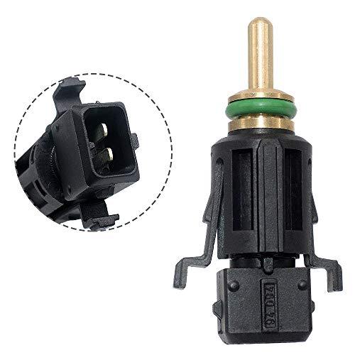 13621433077 Coolant Temperature Sensor TEMP Sensor Compatilbe with 1998-2013 for BMW E46 E90 E39 E60 E38 X3 X5 X6 (Coolant Temperature Sensor Resistance)