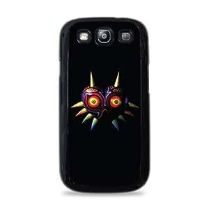 Majoras Mask Galaxy S3 Black Silicone Case