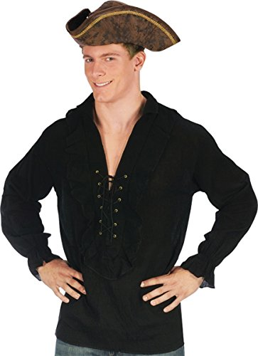 Morris Costumes Shirt Fancy Pirate