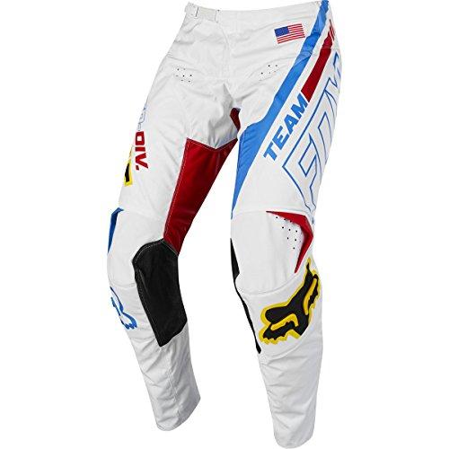 180 Blue Pant Fox - Fox Racing 180 Red White and True SE Men's Off-Road Motorcycle Pants - White/Red/Blue / 32