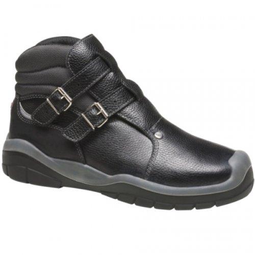 Majo Stiefel 39 Dachdecker S3 5203 Schwarz Schnallenstiefel rzqrg5Hw
