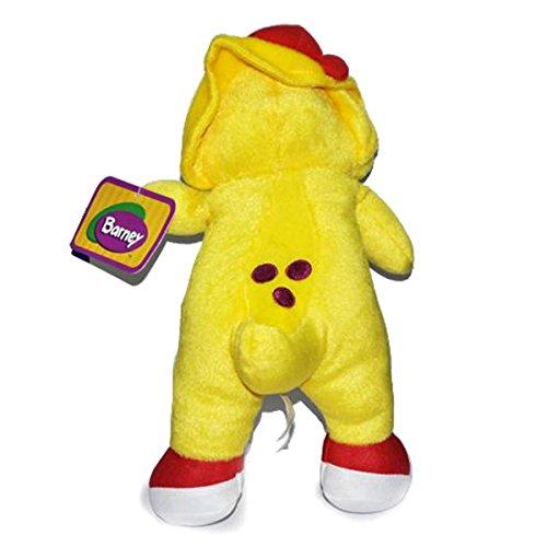 Barney Yellow Dinosaur BJ Singing Song Plush Stuffed Doll