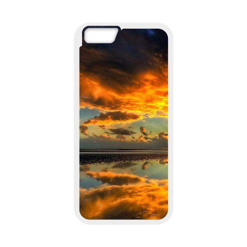 "SYYCH Phone case Of Crimson Clouds 1 Cover Case For iPhone 6 Plus (5.5"")"