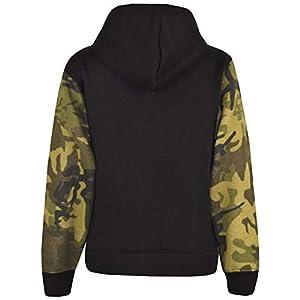 A2Z 4 Kids® Boys Girls Jackets Kids Camouflage Green Print Fleece Hooded Hoodie Zipped Top Jackets New Age 5 6 7 8 9 10…