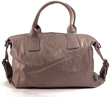 Le Temps des Cerises Debby 2 Handbag Metallic Grey