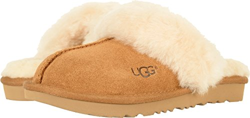 UGG Girls K Cozy II Slipper, Chestnut, 6 M US Big Kid (Kozy Sleeper)
