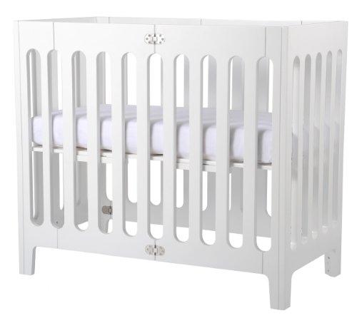 Amazon Com Bloom Alma Mini Urban Crib Frame Coconut