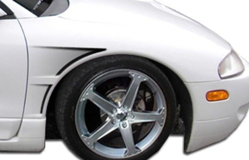 Duraflex ED-LJV-841 GTC Fender - 2 Piece Body Kit - Compatible For Mitsubishi Eclipse 1995-1999