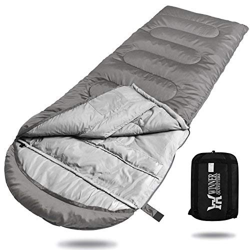 WINNER Camping Kids OUTFITTERS Camping Summer Sleeping Bag, Portable Lightweight Rectangle/Mummy Backpacking Sleeping Bag with Compression Sack, 4 Season Sleeping Bags for Adults & Kids Camping Travel Summer Outdoor [並行輸入品] B07R3Y3N6F, 鷹雅堂1004:fccc3feb --- anime-portal.club