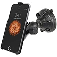 Strong Suction Cup Windshield Car Mount Holder Kit Fits Apple iPhone 6 Plus
