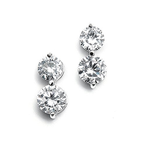 Designer Solitaire Earrings - 6