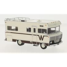 Winnebago Brava, light beige/brown, 1973, Model Car, Ready-made, Neo 1:43