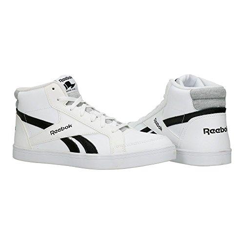 Reebok Royal Kewtee ml, Zapatillas de Deporte para Mujer Blanco (White / Black)