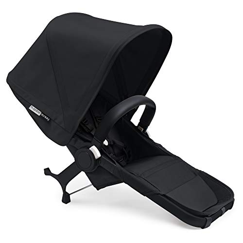 Bugaboo Donkey2 Duo Extension Set, Black/Black – Expand from a Single to a Double Stroller. Includes Duo Extension Adapter, a Toddler Seat, Sun Canopy & Rain Cover!