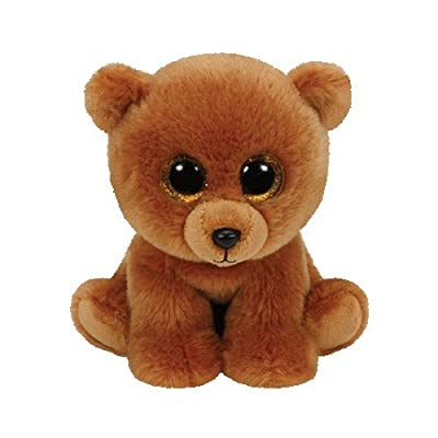 Ty Classic Brownie The Brown Bear Plush: Toys & Games