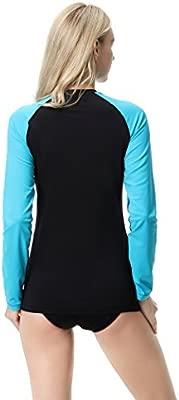 CYCEOS - Camisa de natación de Manga Larga con protección ...