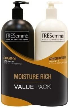 TRESemme Shampoo and Conditioner for Dry or Damaged Hair 2/44 oz ...