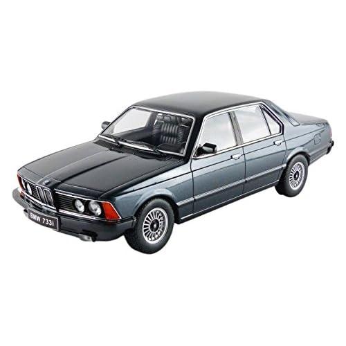Kk Scale Models 180101BK - BMW 733I E23 - 1977 - Échelle 1/18 - Noir
