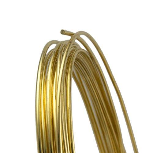 14 Gauge Round Half Hard Yellow Brass Wire - - Wire Anneal