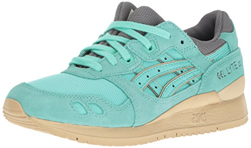 ASICS Women's Gel-Lyte Iii Fashion Sneaker, Cockatoo/Cockatoo, 7 M US