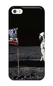 USMONON Phone cases Iphone Iphone 5 5s Hybrid Tpu Case Cover Silicon Bumper Astronaut