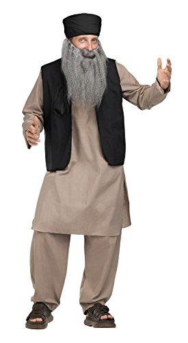 Pashtun Papa Adult Costume - (Osama Bin Laden Costumes)
