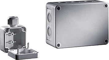 Rittal PK 9514.050 IP66 caja eléctrica - Caja para cuadro eléctrico (180 mm, 90 mm, 110 mm, 860 g): Amazon.es: Bricolaje y herramientas