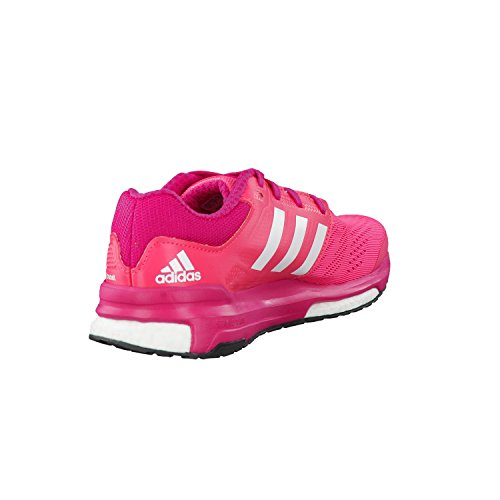 adidas Revenge Boost 2 W - Zapatillas para mujer Rosa / Fucsia / Blanco