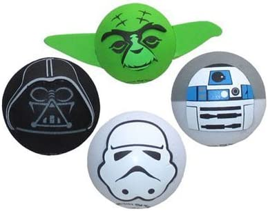 Stormtrooper Yoda Star Wars 4-Pack Antenna Toppers Darth Vader R2D2