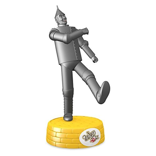 Hallmark 2016 Christmas Ornament THE WIZARD OF OZ TIN MAN If I Only Had a Heart Musical Ornament (Wizard Oz Of Man Heart Tin)