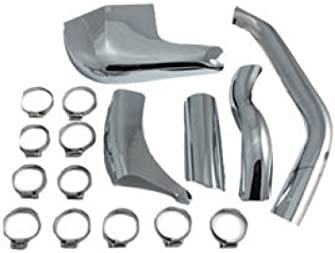 Rear Exhaust Pipe Heat Shield for Harley Davidson by V-Twin