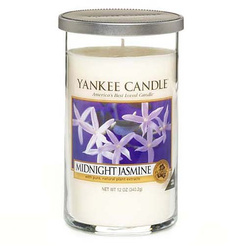 Yankee Candle Perfect Pillar 12oz Midnight Jasmine Jasmin De Minuit 340g Candle 12 Oz 340g