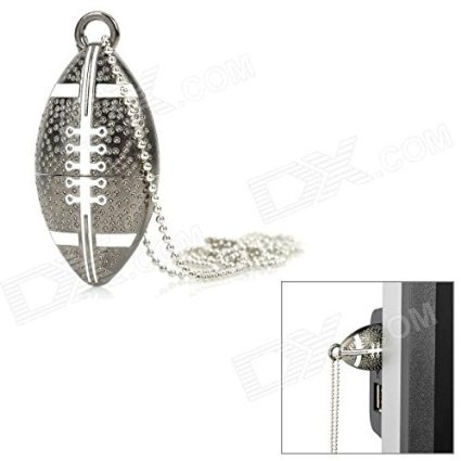 D-CLICK TM High Quality 32GB Fashion Football pendant USB High speed Flash Memory Stick Pen Drive Disk Necklace