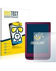 BROTECT Glas Screenprotector compatibel met PocketBook Touch Lux 5 - Beschermglas met 9H hardheid