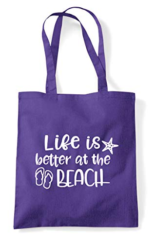Is Shopper Life Purple Bag The Tote Better Beach At Statement Sdg1wKd8rq