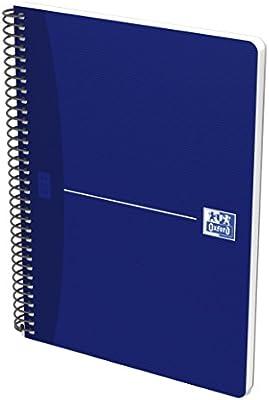 Oxford Essentials - Pack de 5 cuadernos espiral, tapa blanda, 4º: Amazon.es: Oficina y papelería
