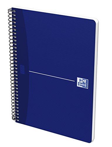 Oxford 100430230–Pack of 5Notebooks Spiral Paperback, fº/215x 310mm